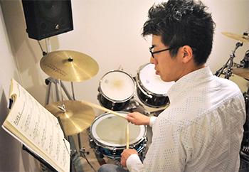 短期集中ドラムレッスンコースの様子1