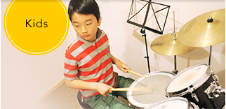 Kids Drums Lesson