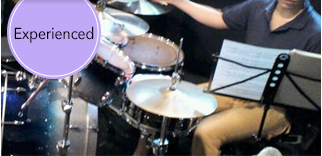 Experienced Drums Lesson