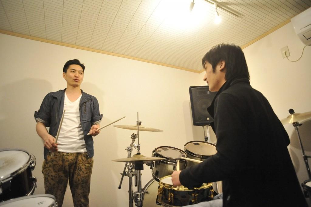 ドラムレッスンアッシュドラムスタジオ