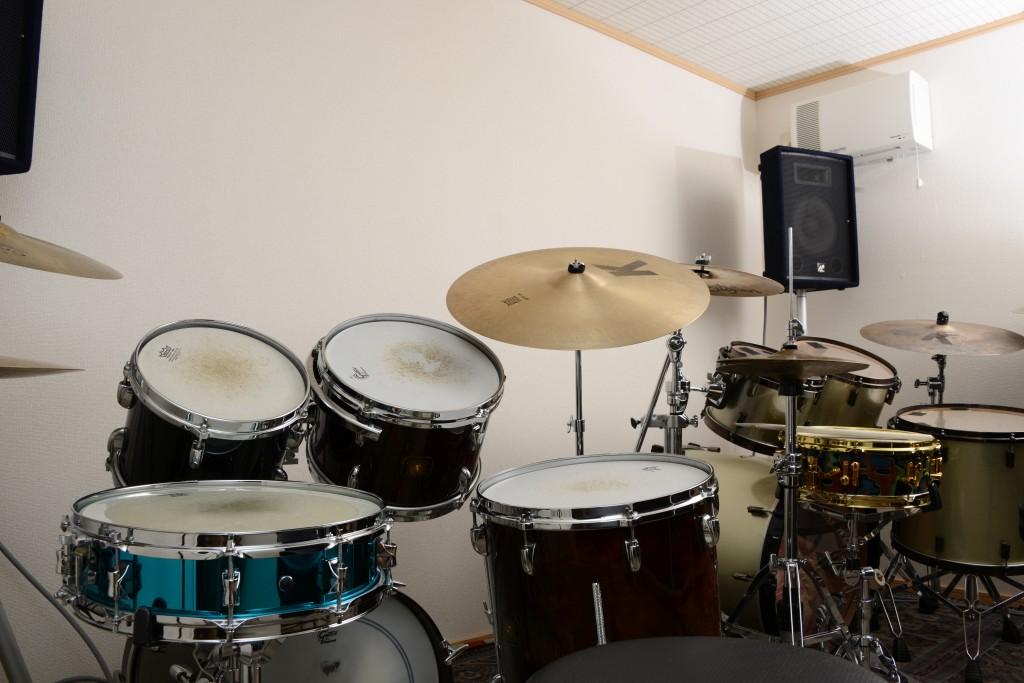 アッシュドラムスタジオはコロナ対策を心掛けています。