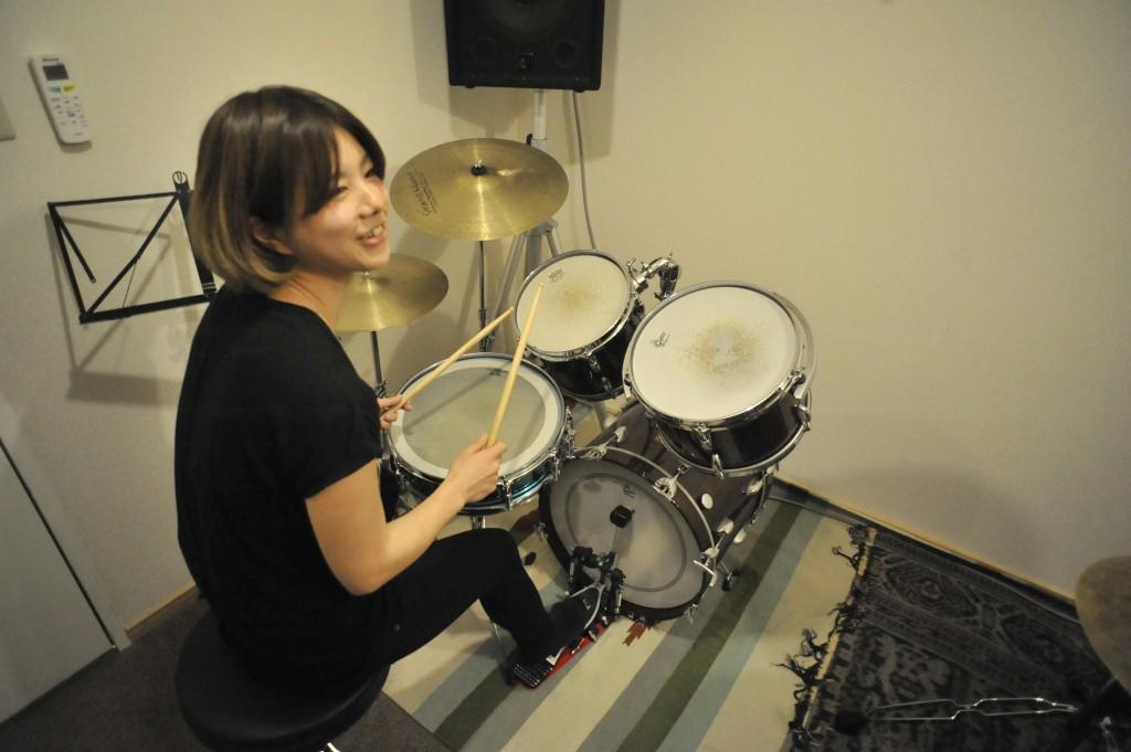スタジオでドラムを楽しめましたか?